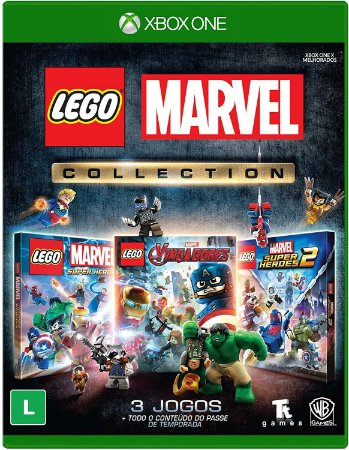 Jogo XBOX ONE Novo LEGO Marvel Collection