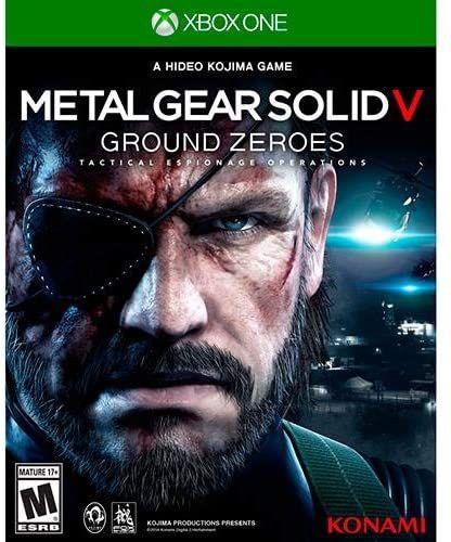 Jogo XBOX ONE Usado Metal Gear Solid V Ground Zeroes