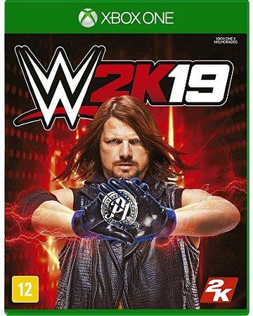 Jogo XBOX ONE Usado WWE 2K19
