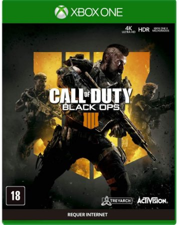 Jogo XBOX ONE Usado Call of Duty Black OPS 4