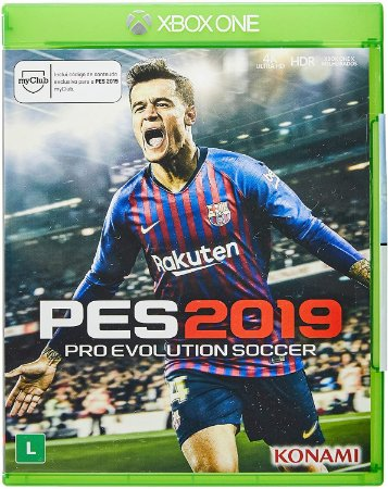 Jogo XBOX ONE Usado Pro Evolution Soccer 2019