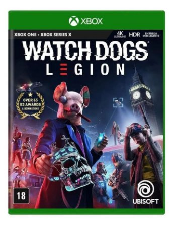 Jogo XBOX ONE Novo Watch Dogs Legion