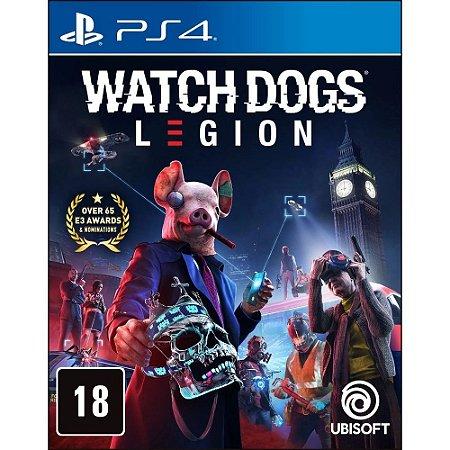 Jogo PS4 Novo Watch Dogs Legion