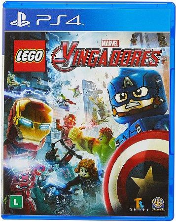 Jogo PS4 Usado LEGO Marvel Avengers