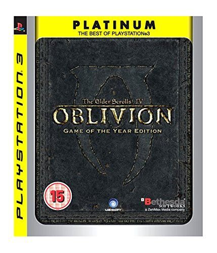 Jogo PS3 Usado The Elder Scrolls IV Oblivion Game of the Year Edition
