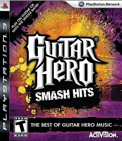 Jogo PS3 Usado Guitar Hero Smash Hits