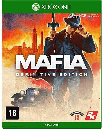 Jogo XBOX ONE Usado Mafia Definitive Edition