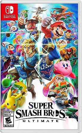 Jogo Nintendo Switch Usado Super Smash Bros Ultimate
