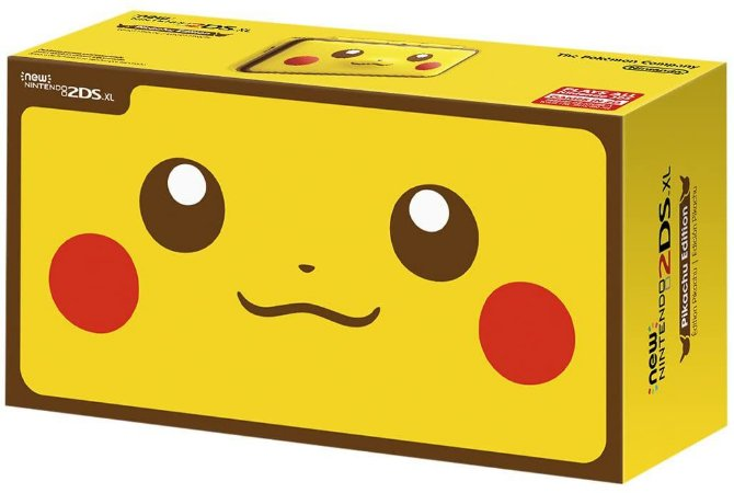 Console New Nintendo 2DS Pikachu Edition