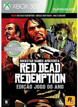 Jogo XBOX 360 Usado Red Dead Redemption Edição Jogo do Ano