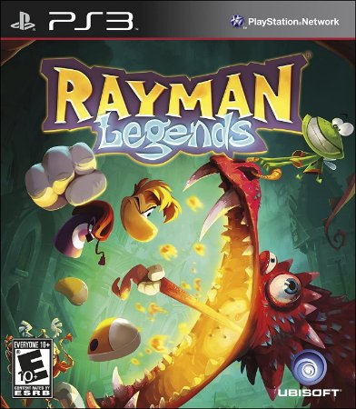 Jogo PS3 Usado Rayman Legends