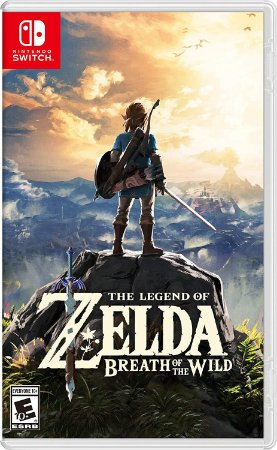 Jogo Nintendo Switch Novo The Legend of Zelda Breath of the Wild