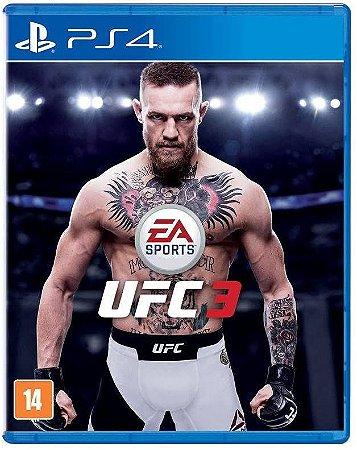 Jogo PS4 Novo UFC 3