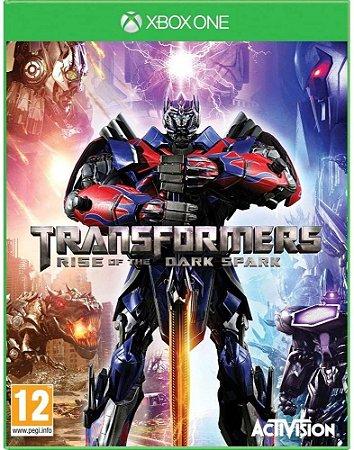 Jogo XBOX ONE Usado Transformers Rise of Dark Sparks