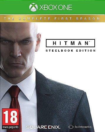 Jogo XBOX ONE Usado  Hitman The Complete First Season Steelbook Edition