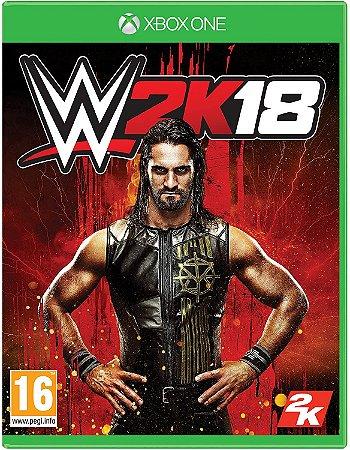 Jogo XBOX ONE Usado WWE 2K18