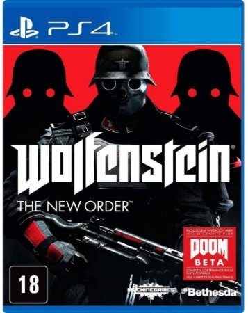 Jogo Ps4 Usado Wolfenstein The New Order