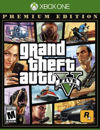 Jogo XBOX ONE Usado Grand Theft Auto V