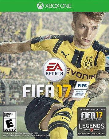 Jogo XBOX ONE Usado FIFA 17