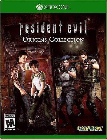 Jogo XBOX ONE Usado Resident Evil Origins Collection