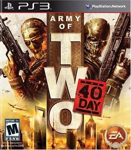 Jogo PS3 Usado Army of Two The 40th Day