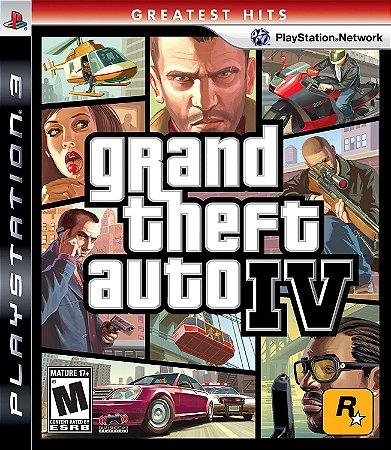 Jogo PS3 Usado Grand theft Auto IV
