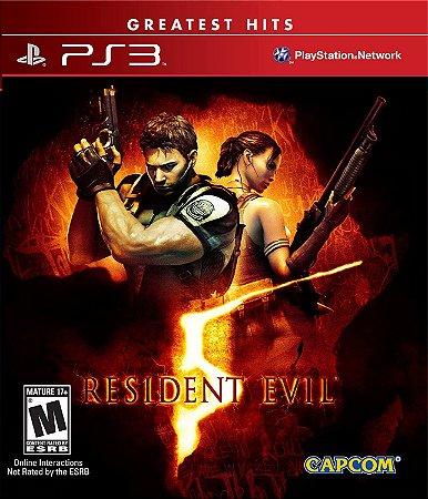 Jogo PS3 Usado Resident Evil 5