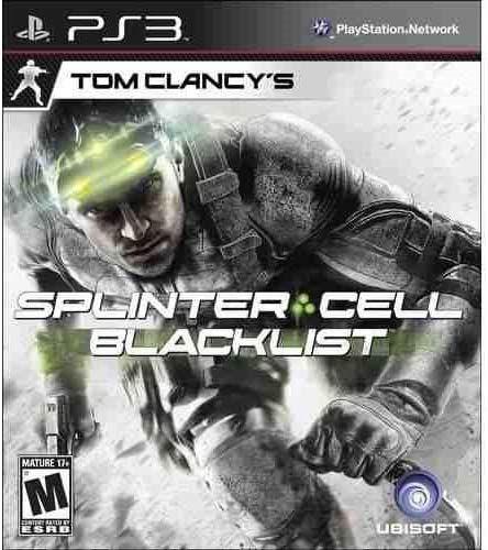 Jogo PS3 Usado Tom Clancy's Splinter Cell Blacklist