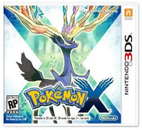 Jogo Nintendo 3DS Usado Pokémon X