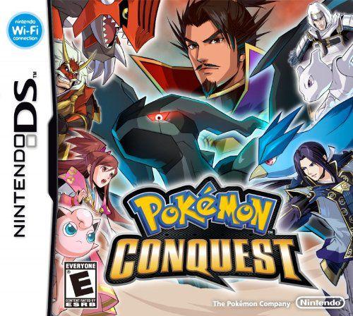 Jogo Nintendo DS Usado Pokemon Conquest