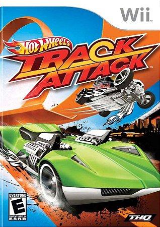 Jogo Nintendo Wii Usado Hot Wheels Track Attack