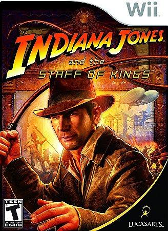 Jogo Nintendo Wii Usado Indiana Jones and the Staff of Kings