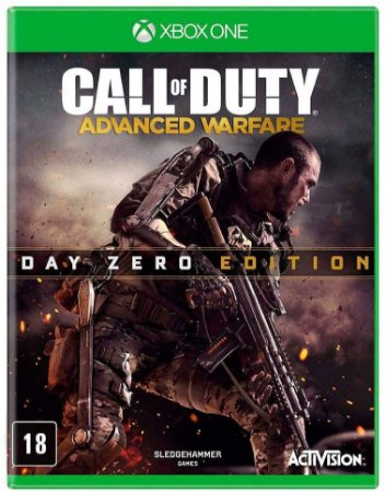 Jogo XBOX ONE Usado Call of Duty Advanced Warfare