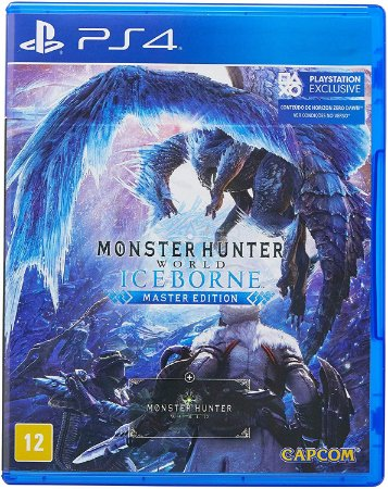 Jogo PS4 Usado Monster Hunter World Iceborne Master Edition