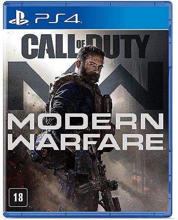 Jogo PS4 Usado Call of Duty Modern Warfare