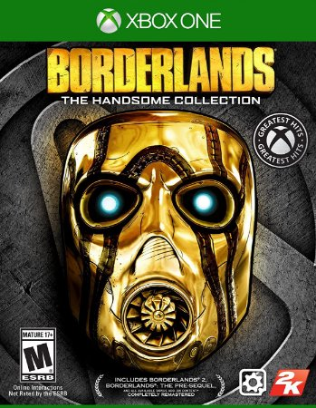 Jogo XBOX ONE Novo Borderlands The Handsome Collection
