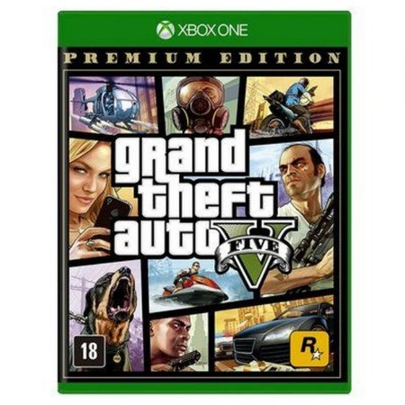 Jogo XBOX ONE Novo Grand Theft Auto V Premium Online Edition