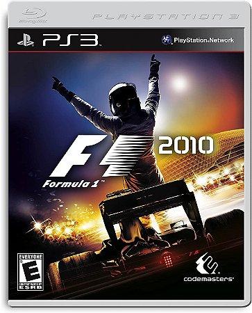 Jogo PS3 Usado F1 2010