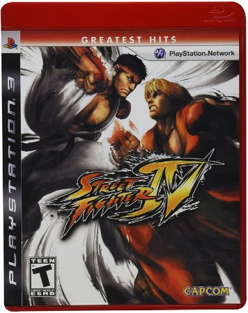 Jogo PS3 Usado Street Fighter IV