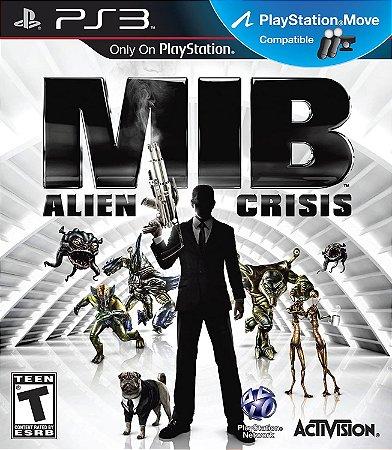Jogo PS3 Usado MIB Alien Crisis