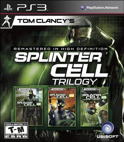 Jogo PS3 Usado Tom Clancy's Splinter Cell Trilogy