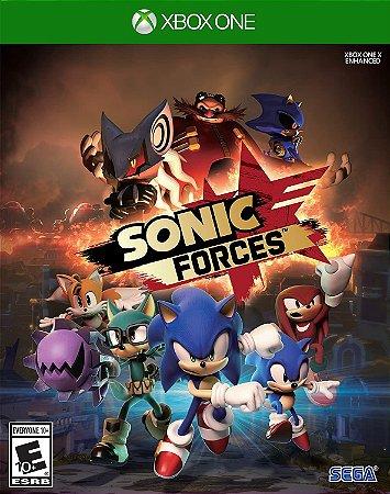 Jogo XBOX ONE Usado Sonic Forces