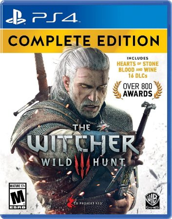 Jogo PS4 Novo The Witcher 3 Wild Hunt Complete Edition