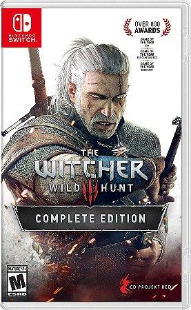 Jogo Switch Usado The Witcher 3 Wild Hunt
