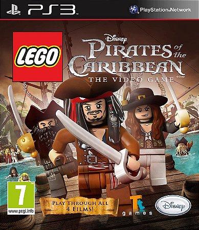 Jogo PS3 Usado LEGO Pirates of the Carribean