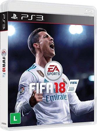 Jogo PS3 Usado FIFA 18