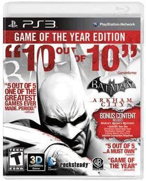 Jogo PS3 Usado Batman Arkham City Game of the Year Edition
