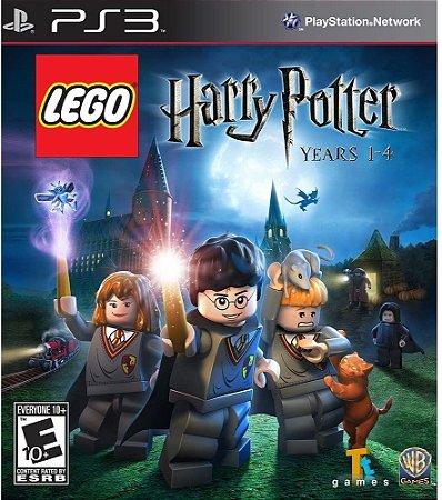 Jogo PS3 Usado LEGO Harry Potter Years 1-4