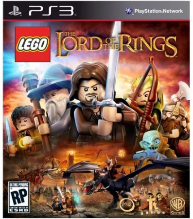 Jogo PS3 Usado LEGO The Lord of the Rings