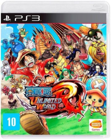 Jogo PS3 Usado One Piece Unlimited World Red